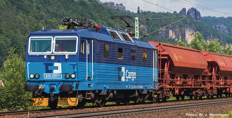 Lokomotywa 372 CD Cargo z dźwiękiem Roco 71226 (1)