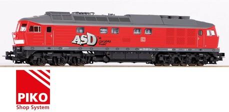 Lokomotywa BR 232 DB AG ep. VI (graffiti) z dźwiękiem (PIKO 52777) (1)