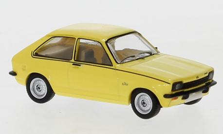 Opel Kadett C City J jasnożółty (BREKINA870240) (1)