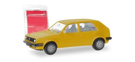 Minikit VW Golf II żółty HERPA 012195-008 (1)