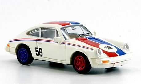 Porsche 911 białe, nr 59 BREKINA 16303 (1)