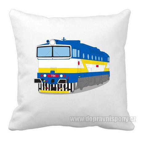 Poduszka - lokomotywa 754