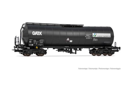 Wagon cysterna PKP GATX ZaesFS Cargo Chemical HR6460P (1)