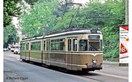 Tramwaj Duewag GT8 Dortmund (z napędem)  (1)