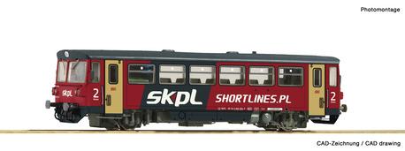 Wagon motorowy 810 054-7 SKPL