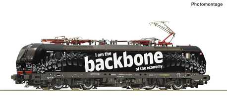 "Lokomotywa vectron 193 318 Deutsche Bahn AG ""Backbone"" Roco 70316 (1)"