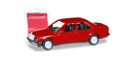 Minikit Mercedes-Benz 190 E czerwony HERPA 012409-007 (1)