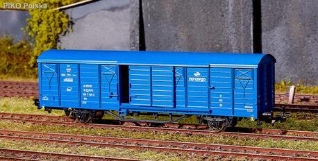 Wagon kryty Gbs PKP Cargo PIKO 54448 (1)