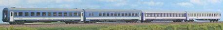 Zestaw wagonów pociągu EN Metropol-Chopin PKP/MAV cz. II (1)