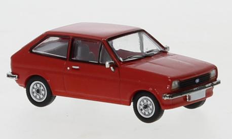 Ford Fiesta MK1 czerwona (BREKINA870237) (1)