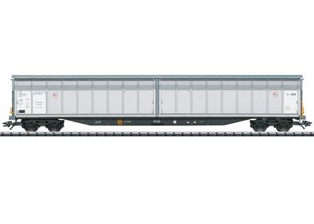 Wagon kryty typu Hbbins AAE/PKP TRIX 24554 (1)