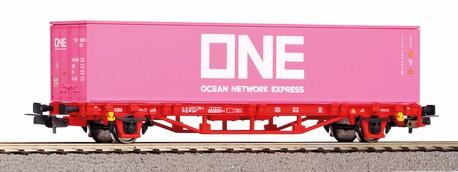 Platforma 2-os. z kontenerem ONE DB AG (PIKO 57757) (1)