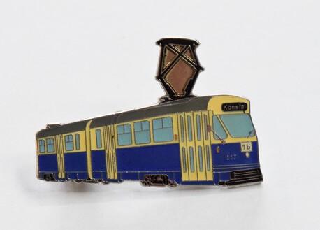 Przypinka - tramwaj 102Na niebieski (1)