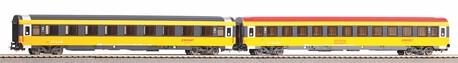 Zestaw 2 wagonów Eurofima 2 klasa Regiojet PIKO 58222 (1)