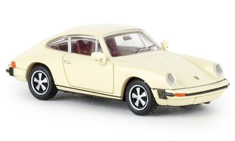 Porsche 912 model 1976, kość słoniowa (BREKINA 16316) (1)