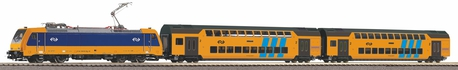 Zestaw startowy pociąg piętrowy NS z elektrowozem (PIKO 97939) (1)