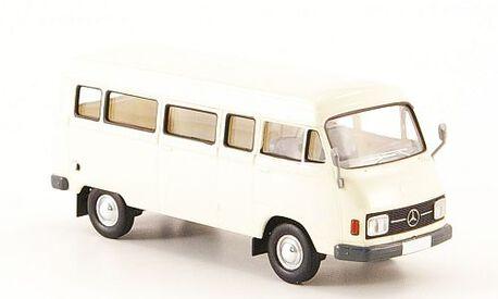 Mercedes L 206D Kombi, biały 1970, BREKINA 13251 (1)