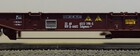 Wagon platforma T3 Sdgmns 33 z kontenerem ONE Roco 76234 (5)