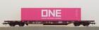Wagon platforma T3 Sdgmns 33 z kontenerem ONE Roco 76234 (2)
